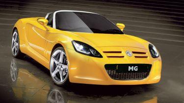确认的:MG正在建造一个新的跑车