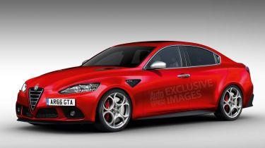 New Alfa Romeo Giulia Quadrifoglio Verde瞄准BMW M3