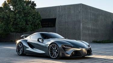 新的丰田FT-1变体亮相