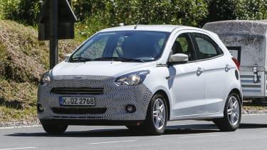 新的2016福特ka原型发现