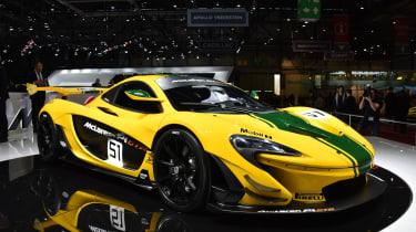 生产迈凯轮P1 GTR在日内瓦透露