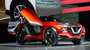 日产格里普兹SUV概念涵盖法兰克福电机展