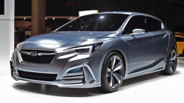Subaru Impremza 5门概念预览了新的Vauxhall Astra竞争对手