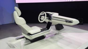 沃尔沃概念26将您的车变成休息室