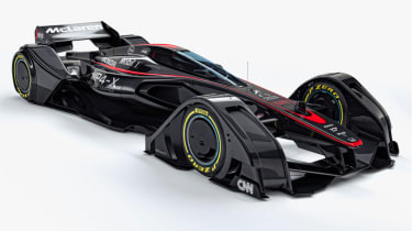 迈凯轮用MP4-X概念揭示了F1未来的愿景