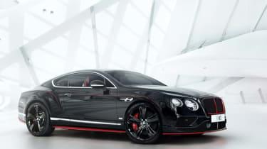 Bentley Continental GT黑速:特别版透露