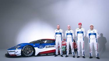 福特GT Le Mans&WEC司机宣布