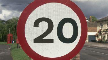 20英里可能会看到道路变得更加危险