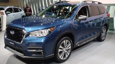Subaru Asencent SUV:最大的斯图乌斯为美国市场推出