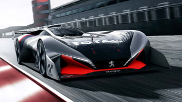 Peugeot推出L750 R Gran Turismo运动视频游戏的概念
