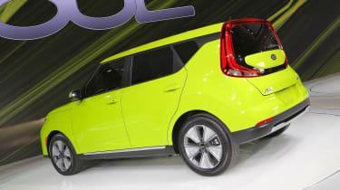 新的2019年Kia Soul EV在La Motor展上透露