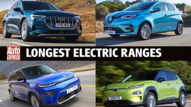 电动汽车范围最长