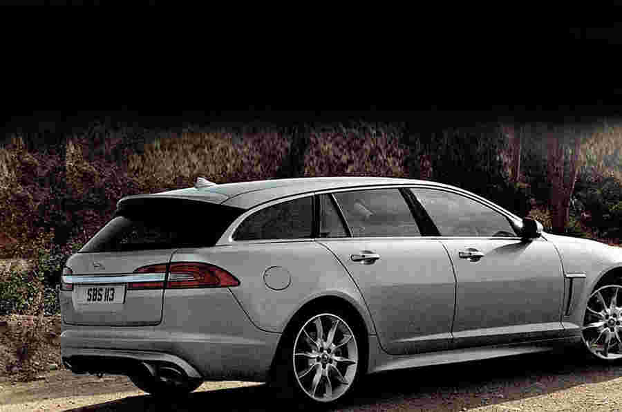 日内瓦电机展2012:Jaguar XF Sportbrake泄露了照片