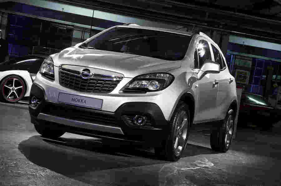 日内瓦电机展2012:Vauxhall Mokka Suv.