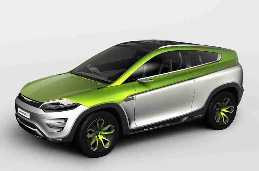 日内瓦电机展2012:Magna Steyr 3-In-1汽车