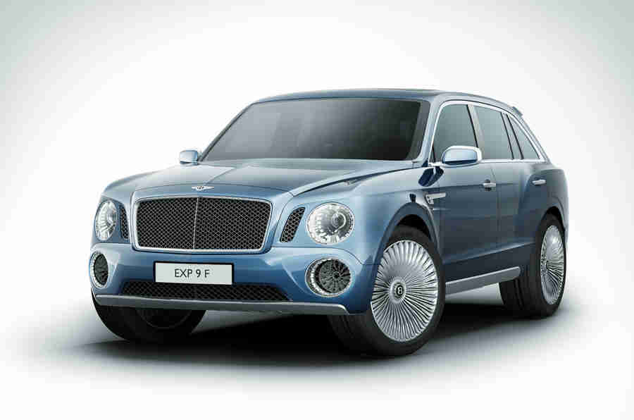 日内瓦电机展2012:Bentley Exp 9 F概念