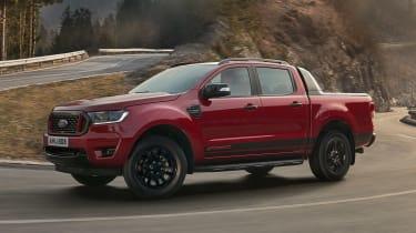 新的2021 Ford Ranger StormTrak和WolfTrak限量版透露