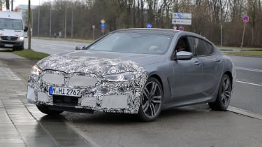 Facelifted 2022 BMW 8系列Gran Coupe发现